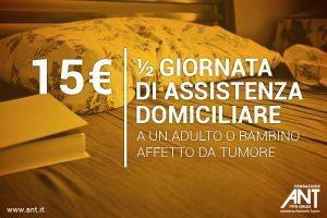 Donazioni continuative sdd 15 Euro