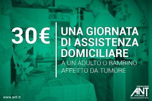 Donazioni continuative sdd 30 Euro