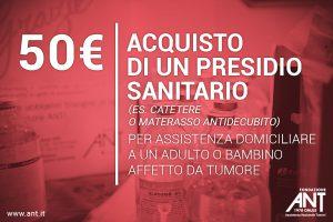 Donazioni continuative sdd 50 Euro