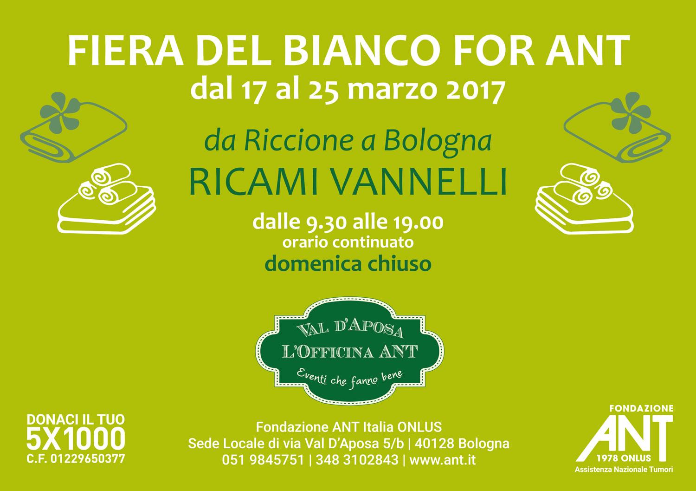 Fiera del bianco for ant bologna fondazione ant italia onlus - Fiera del mobile bologna ...