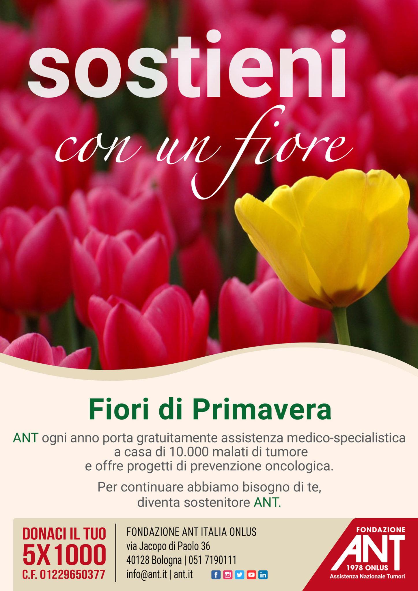 Fiori Con La F.Fiori Di Primavera Ant Fondazione Ant Italia Onlus