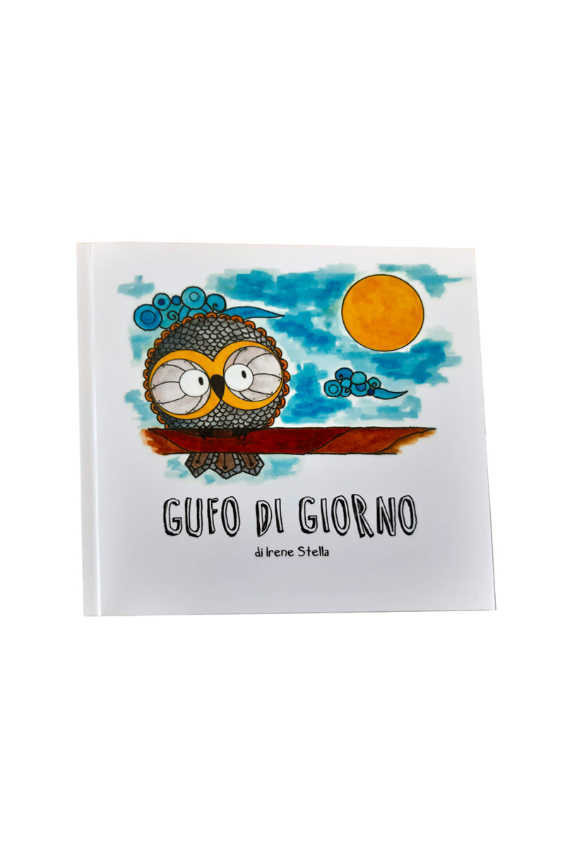 GUFO DI GIORNO, LIBRO PER BAMBINI
