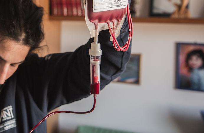 Trasfusione a domicilio (medico, infermiere e trasporti)