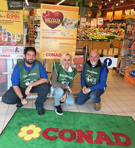 Raccolta Alimentare Nordiconad per ANT