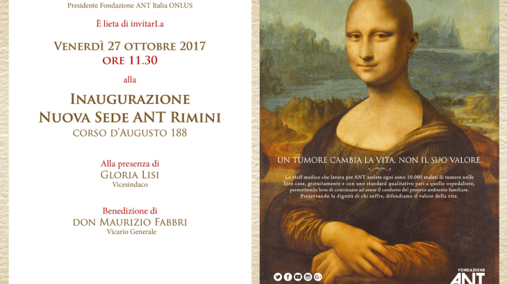 prima sede in Romagna di Fondazione ANT