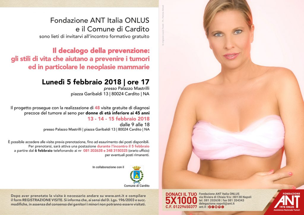 prevenzione dei tumori mammari