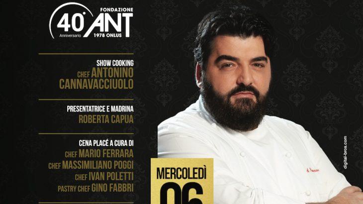 ANT con Antonio Cannavacciuolo