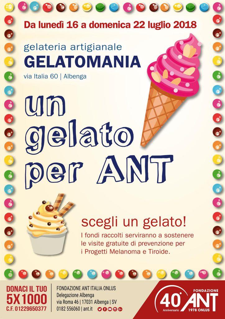 Settimana del gelato pro-ANT – Albenga (SV)