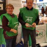 Pia e Antonio volontari ANT, delegazione di Porto Sant'Elpidio