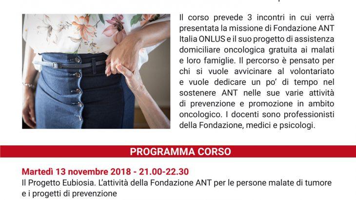 volontario ANT Urbino