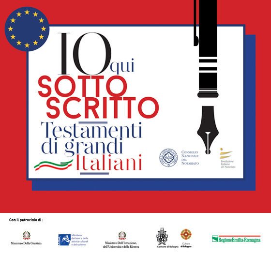 I testamenti dei grandi italiani in mostra a Bologna