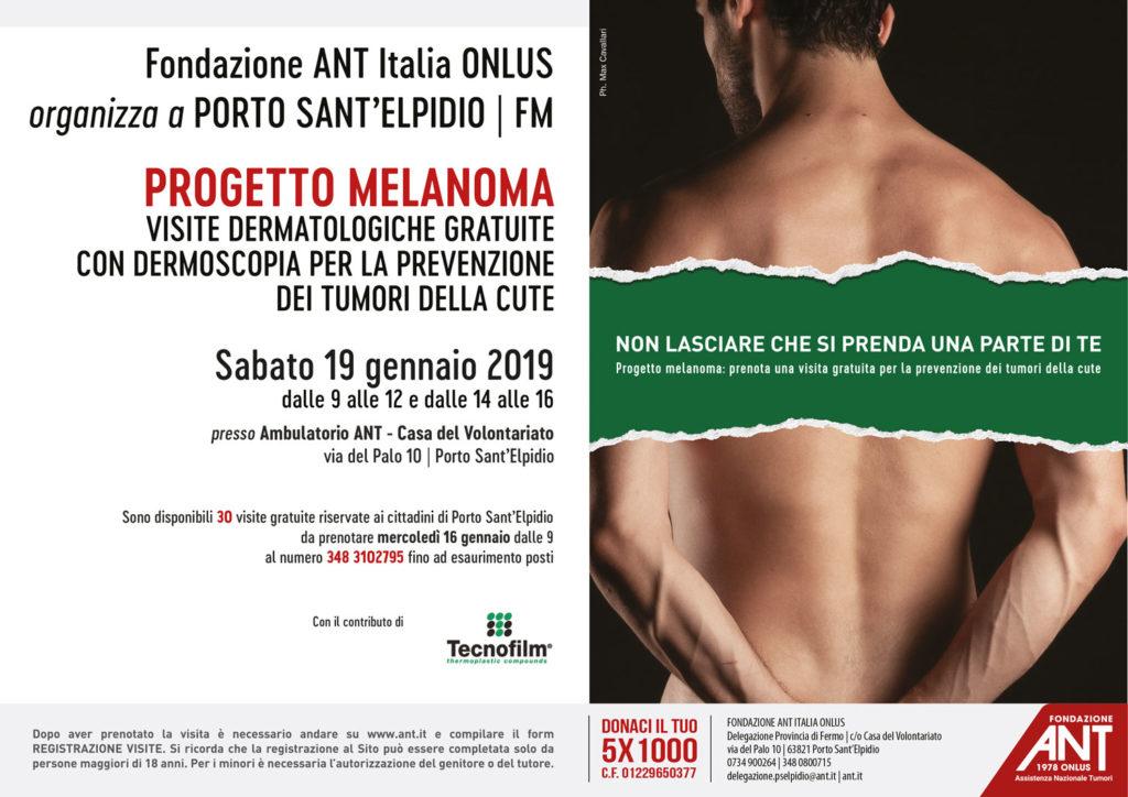 Prevenzione tumori: il progetto Melanoma a Porto Sant'Elpidio