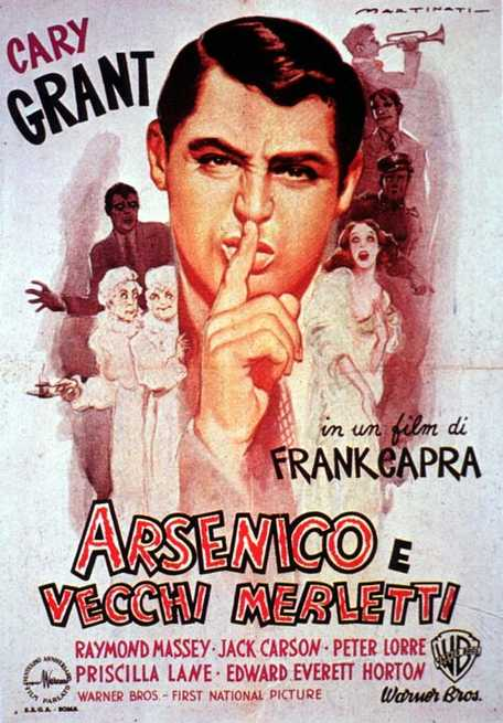 Cineforum della Formica  – Arsenico e vecchi merletti