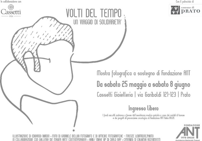"""""""Volti del tempo, un viaggio di solidarietà"""" Mostra fotografica per ANT a Prato"""