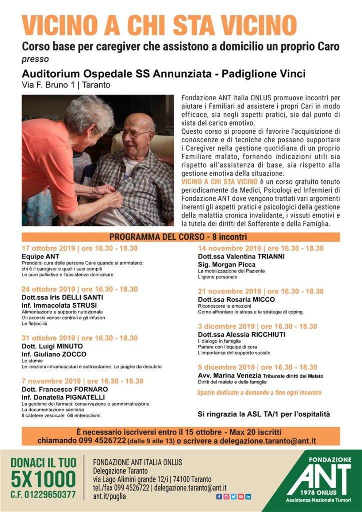 Corso Care Giver – Taranto