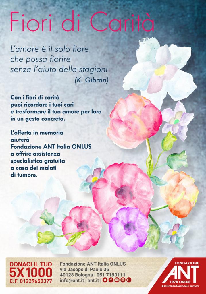 Fiori di carità pro-ANT – Imola (BO)