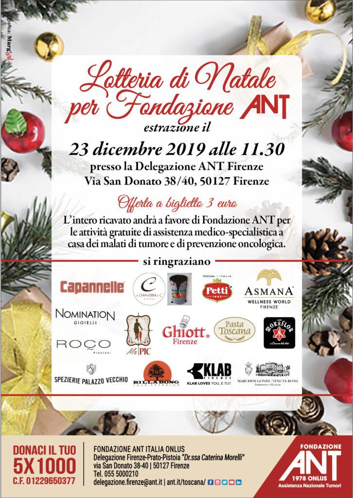 Lotteria di Natale ANT – Firenze
